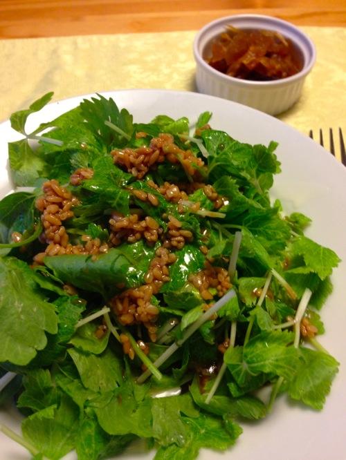 2湯葉グリーンサラダ