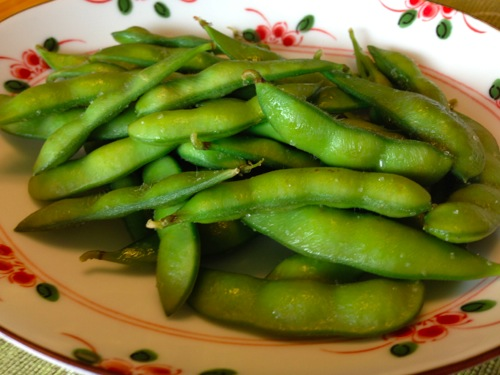 1枝豆蒸し焼き
