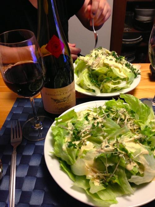 レタス&ワイン