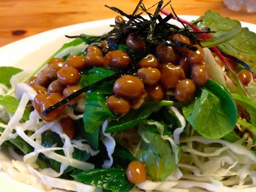 1−1納豆サラダアップ