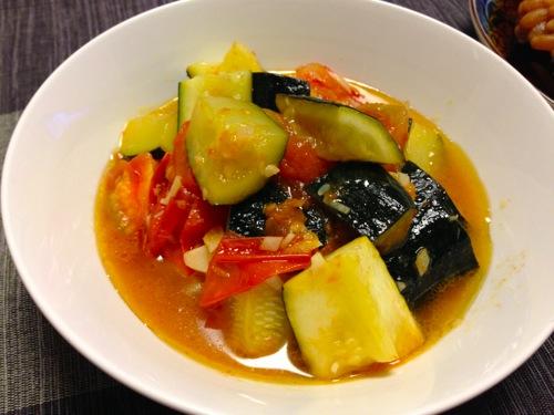 4野菜のオリーブオイル煮