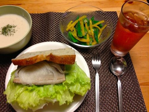 1焼きしめ鯖サンドセット
