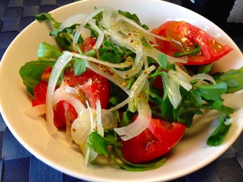 3トマトサラダ