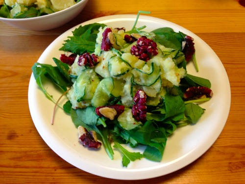 3クリムゾン胡桃のサラダ