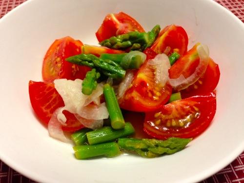 2トマトアスパラサラダ
