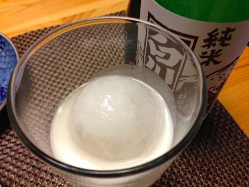 4純米濁り酒ロック
