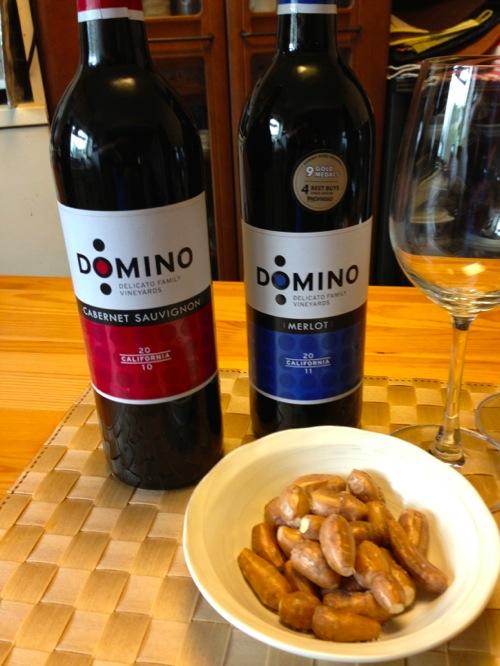 2ワインの見比べカベルネ&メルロー