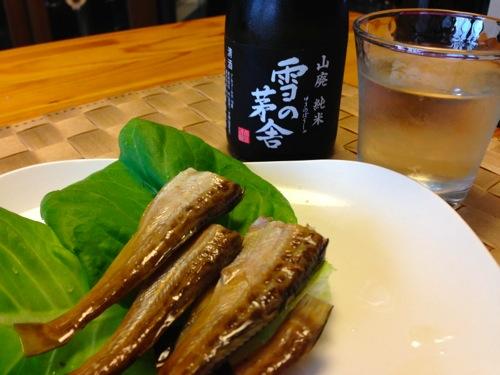 4ハタハタは日本酒