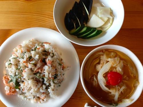1ほぐし鮭の混ぜ寿司セット