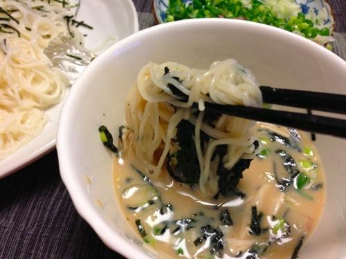 2−1素麺アップ