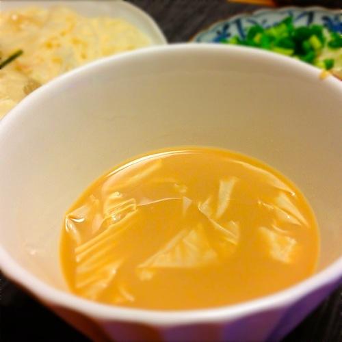 5湯葉豆乳絶品つけ汁