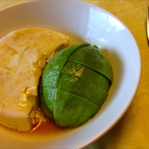 4湯葉豆腐&アボカド