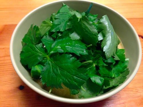 3水菜と山芋