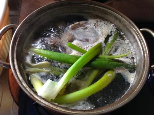 1鶏がらスープ
