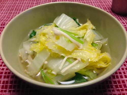 2白菜の煮物