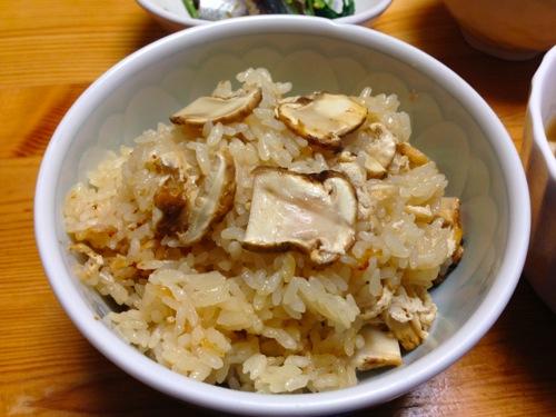 5松茸ご飯