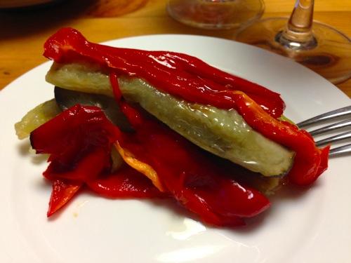 3エスカリバーダ(焼き野菜のサラダ)