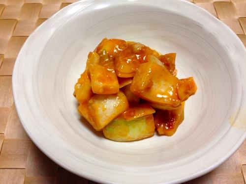 4玉ねぎ韓国味噌