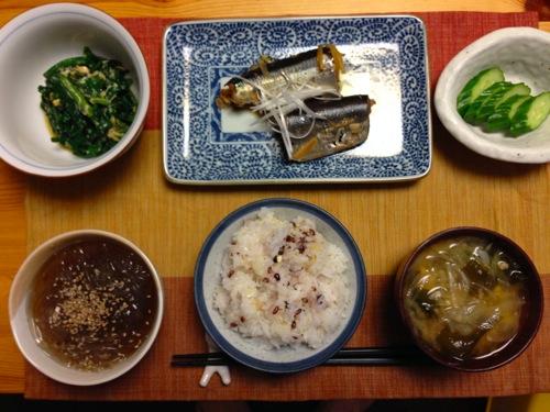 1純和風秋刀魚セット