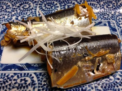 6秋刀魚はらわた煮