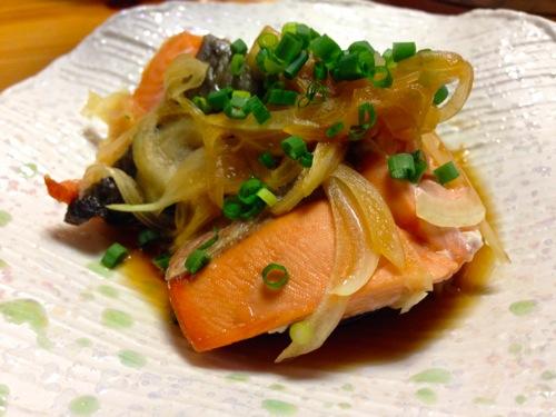 5秋鮭煮浸し