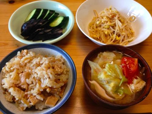 1生姜カジキの炊き込みご飯セット