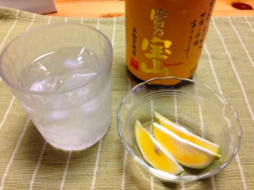 5自宅焼酎国産レモン