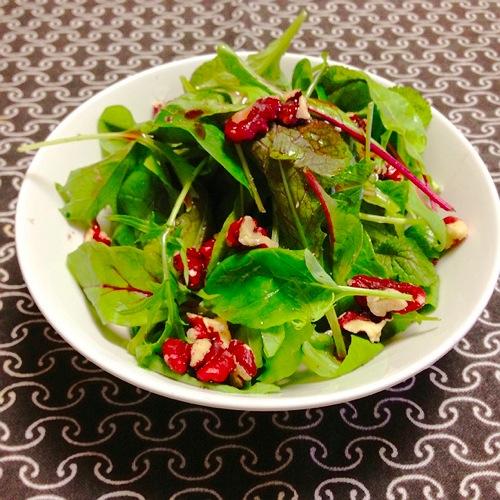 2赤胡桃のサラダ