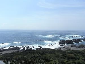 室戸岬の太平洋