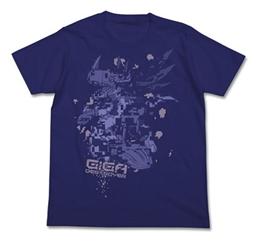 デジモンアドベンチャー メタルグレイモンTシャツ ナイトブルー
