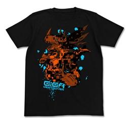 デジモンアドベンチャー メタルグレイモンTシャツ ブラック