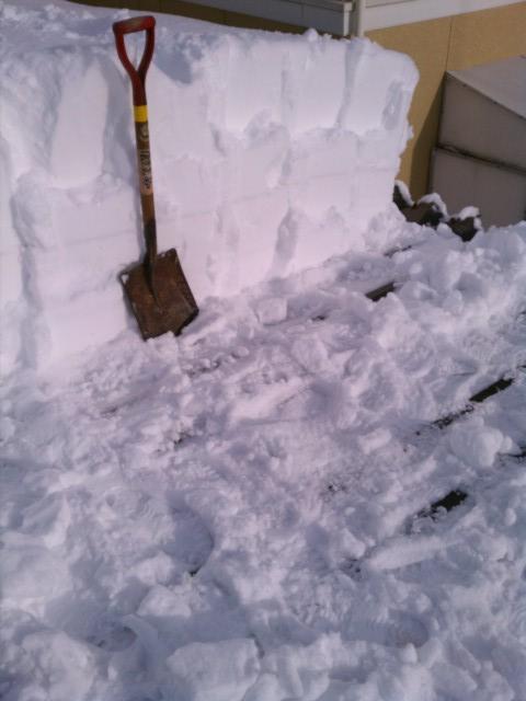 2012正月雪