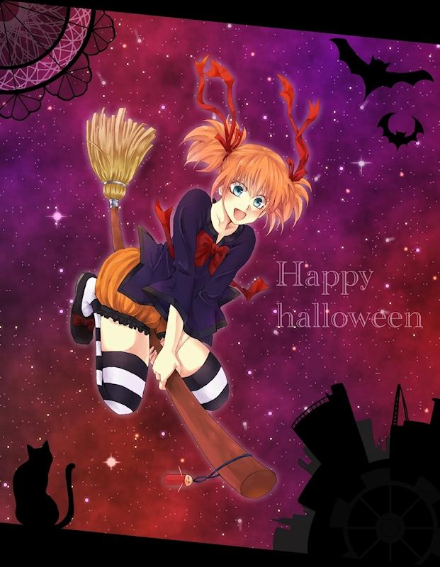 Happy halloween!!神楽(銀魂)