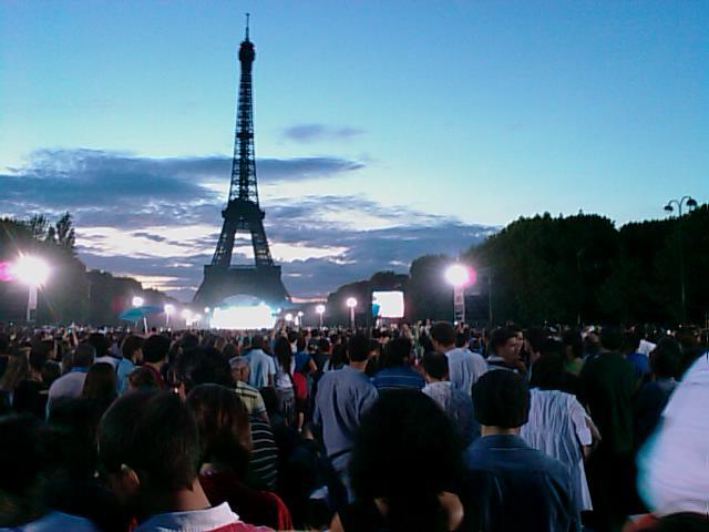パリ祭 エッフェル