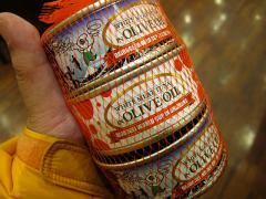 オリーブオイル漬けツナ缶