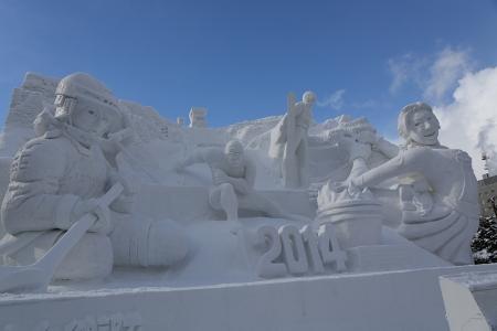 雪まつり 雪像
