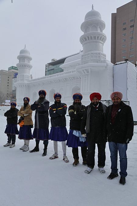 雪まつり ナイスインディアン