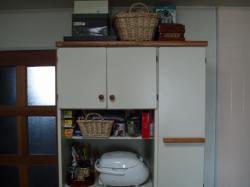 お姉ちゃんからもらった食器棚