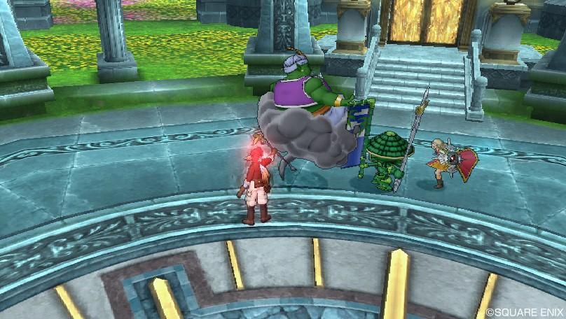 魔法型アンルシアとともに魔人を討伐