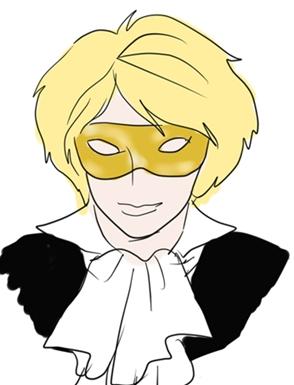 仮面の占い師