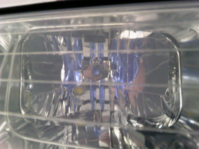 IPF スーパーロービームXクリアブルー H1 装着イメージ