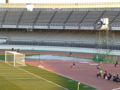 サッカースタジアムカメラ