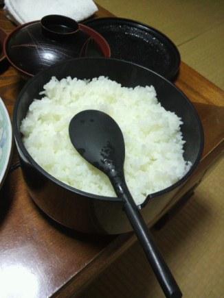 夜ごはん米