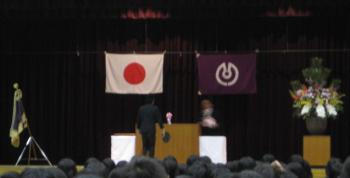 卒業生代表