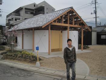 島田陽 おおきな曲面のある小屋