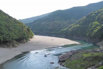 瀞峡ウォータージェット