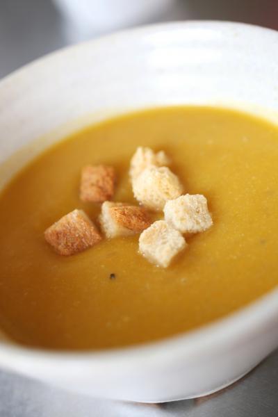 かぼちゃ冷製スープ
