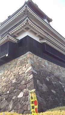 裏から臨む清洲城