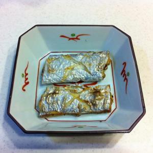 タチウオの塩焼