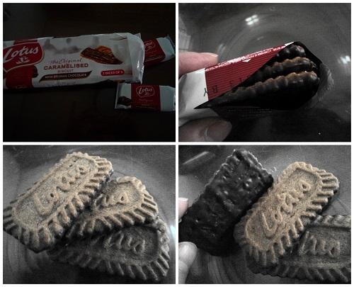 ロータス チョコカラメルビスケット